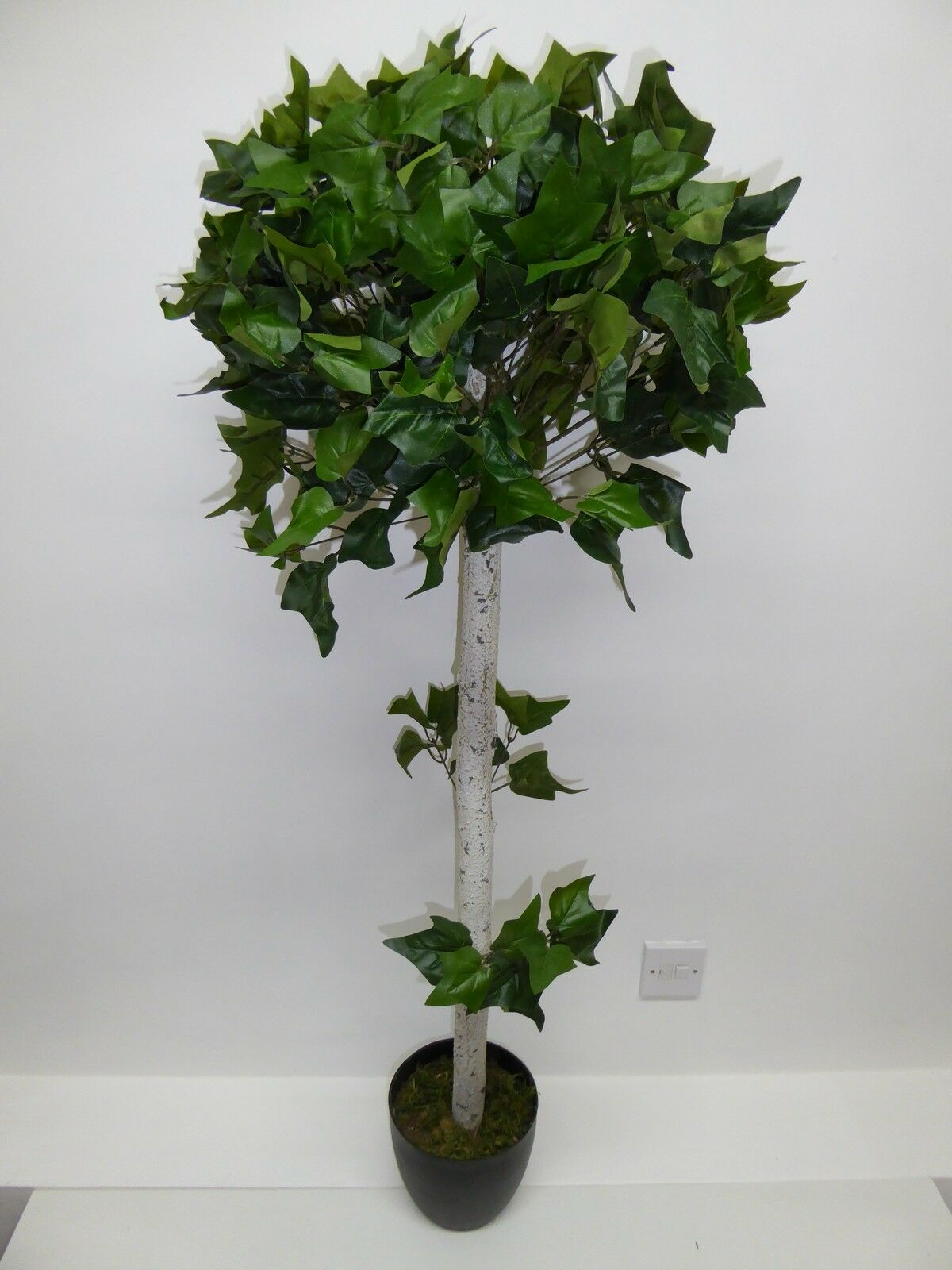 Artificial Large Ivy Plant In A Pot Tree 4ft 1.2m House Office Potted Plant