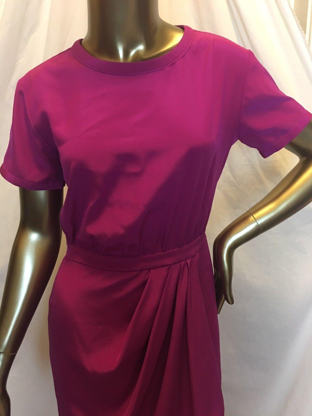 DVF DIANE VON FURSTENBERG ERYN Silk Silk Silk Pink Dress Size 2 fc344a