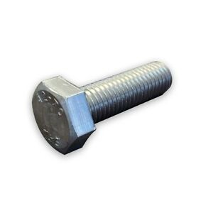 M12 Hex Head Bolts Screws Stainless Steel A2 DIN 933