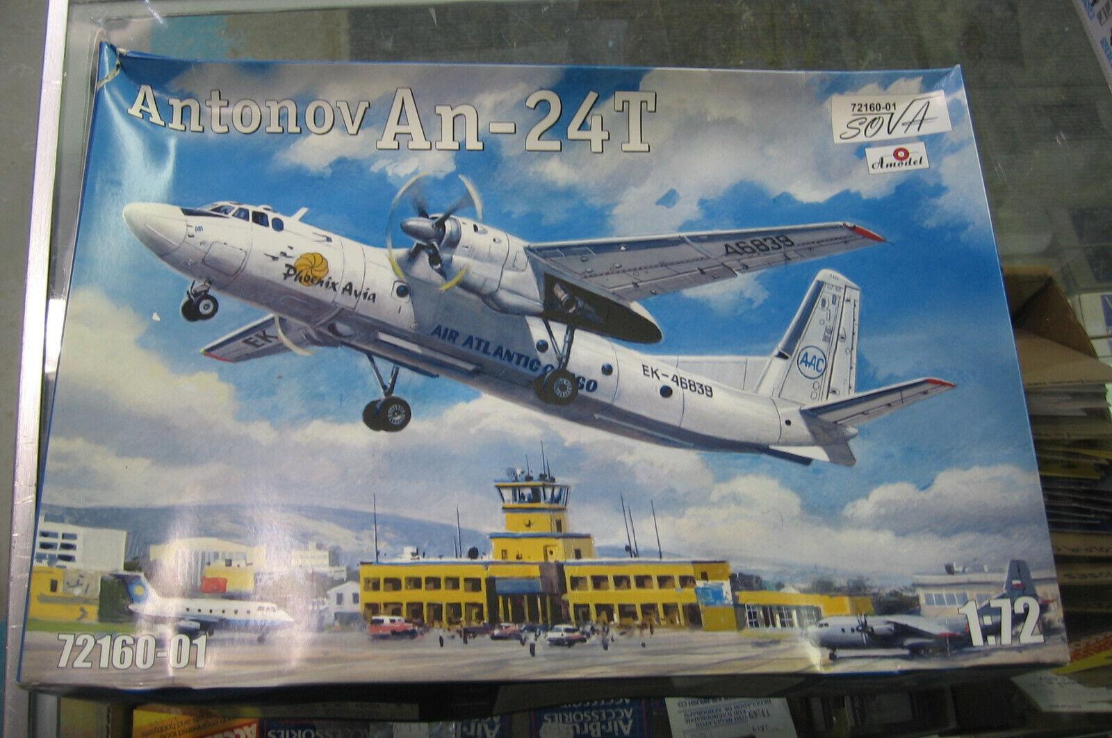 Amodel 1 72 Antonov An-24T 72160-01