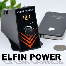 ALIMENTATORE ELFIN POWER EP-1 TATUAGGI Power Supply Machine Gun TATTOO SUPPLIES