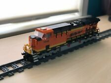 Custom Lego Train Burlington Northern Santa Fe GP60Instructions ONLY-w//Decals
