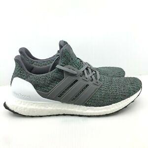 Details about [CP9251] Men's ADIDAS UltraBoost Ultra Boost 4.0 Running Sneaker Grey Green