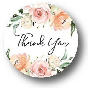 30-Floral-Thank-You-Baby-Shower-Personalized-Favors-Treat-Bag-Stickers