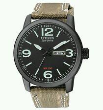 CITIZEN Eco-Drive WR100 Men's watch with premium strap RRP £159 BNIB