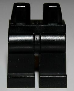Lego 2x Black Minifig Legs w// White Hips NEW