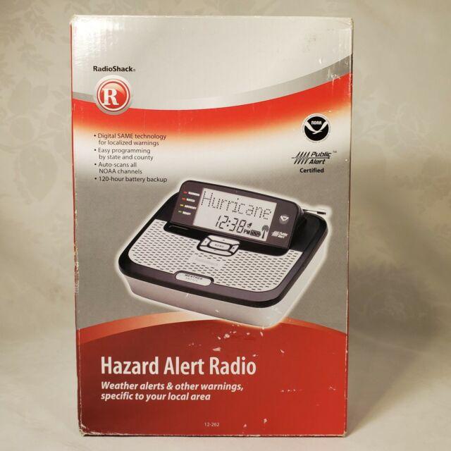 Hazard Alert Radio Radio Shack (Weather Alerts & Other Warnings) 12-262