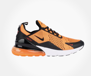 pretty nice e4808 86442 Details about New NIKE AIR MAX 270 V2517800 Team Orange/Black/White/Chile  Red Shoes c1