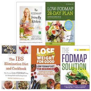 Details about FODMAP Friendly Kitchen Cookbook,IBS Elimination Diet 5 Books  Collection Set New
