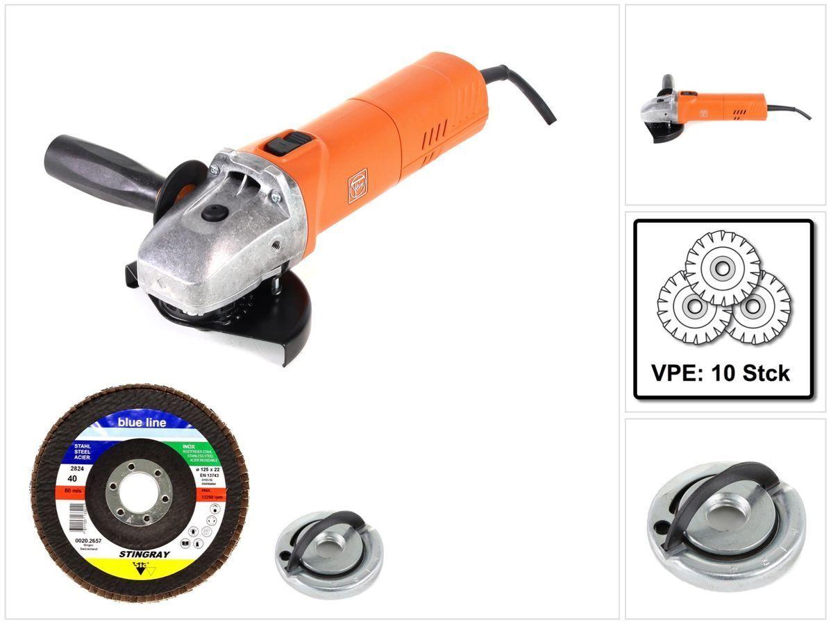 Fein WSG 17-125 PS 1700 W Winkelschleifer 125 mm + Zubehör