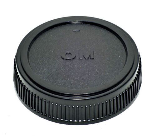 Nuevo Cap Olympus /& Panasonic Tapa Trasera Montaje 4//3 Tapa trasera de objetivo