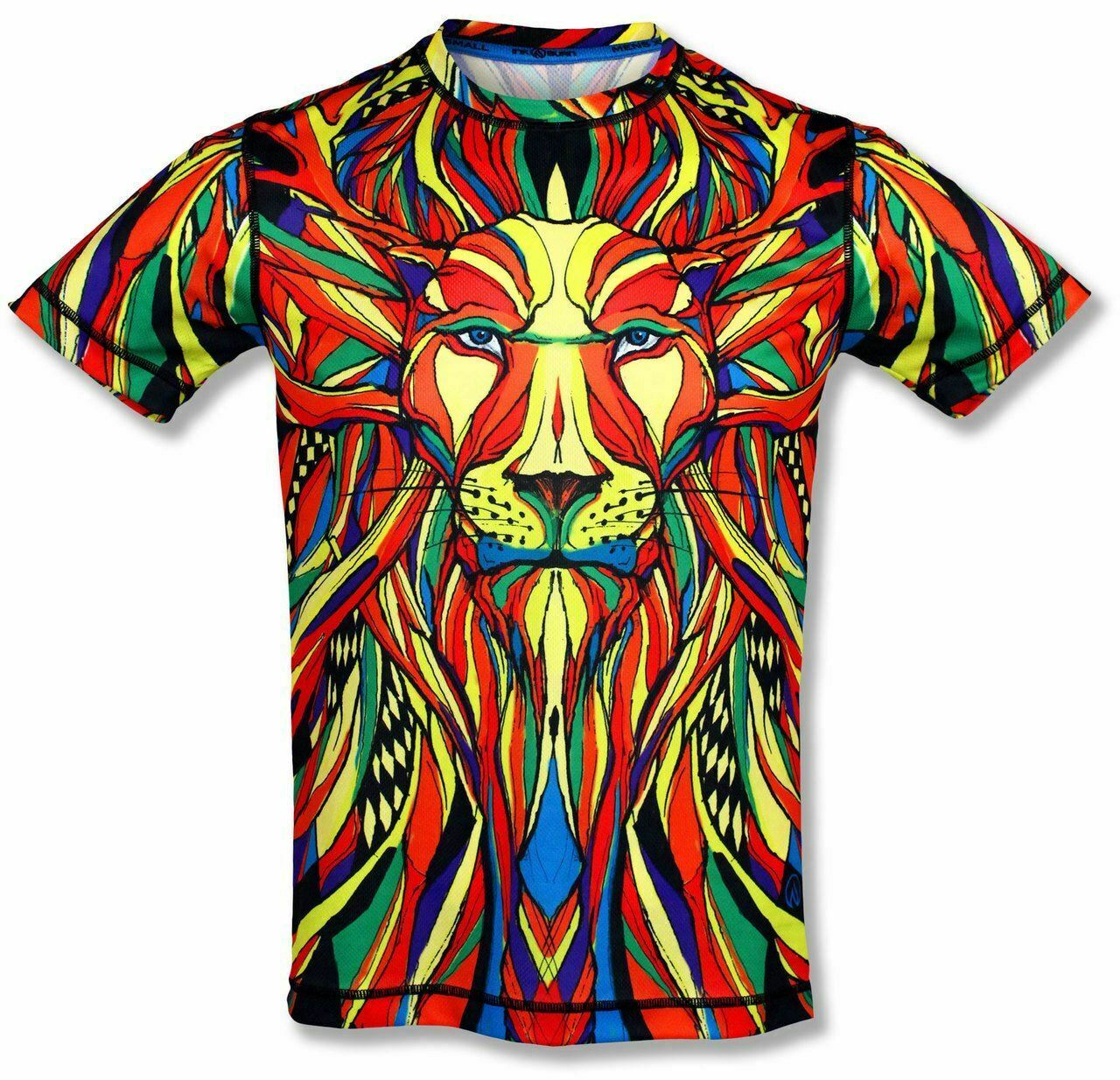 Inknburn Herren Löwe Tech Hemd