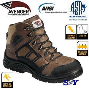 Steel Toe Electrical Hazard Slip Oil