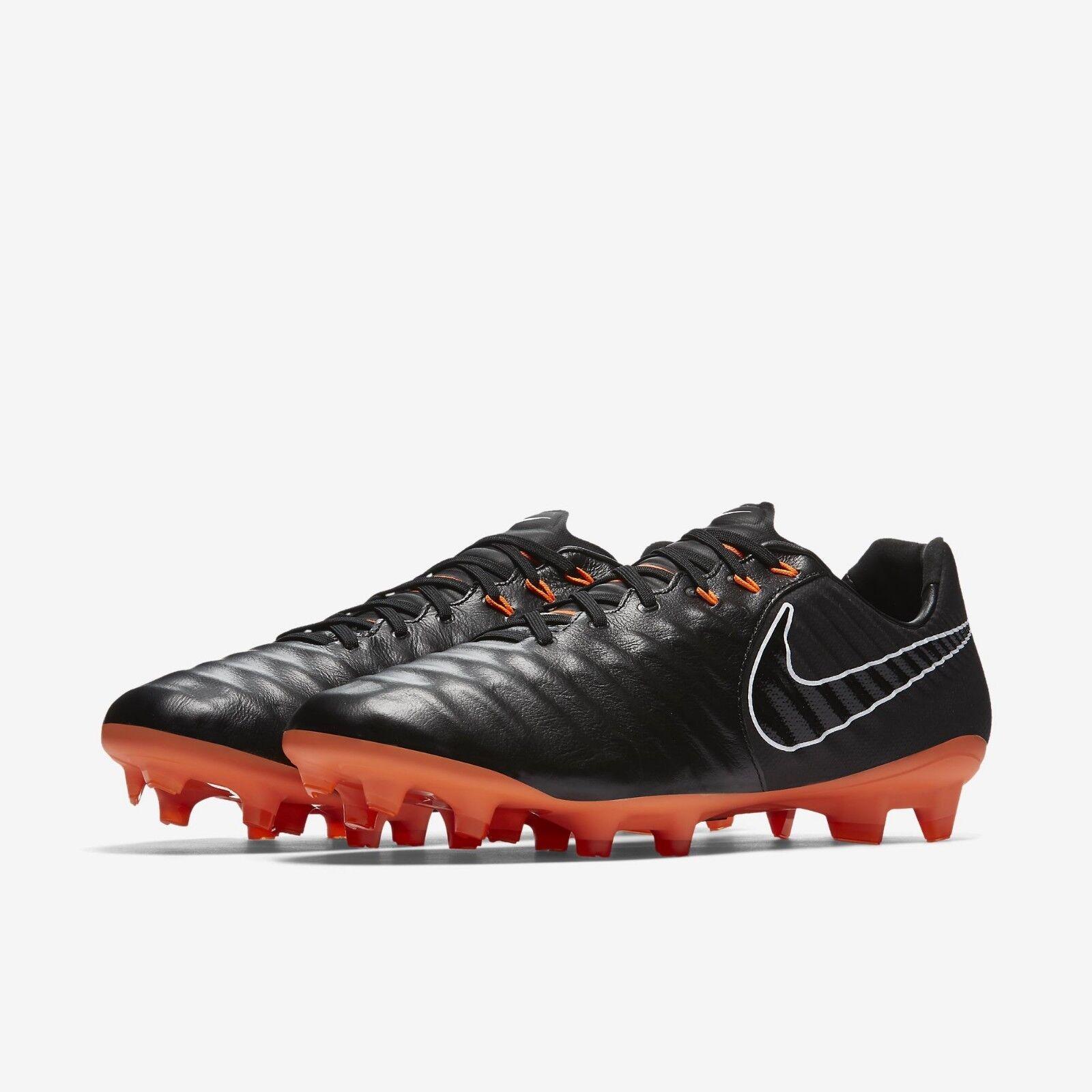 Nike tiempo leggenda 7 calcio vii (fg scarpini da calcio 7 uomo nero ci ah7241-080 9,5 6da934