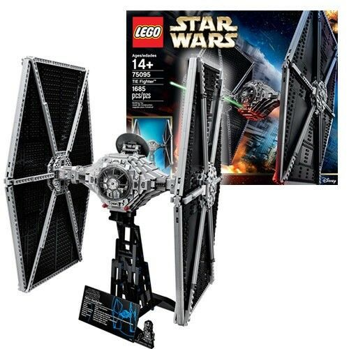 LEGO Ultimate Collector Star Wars TIE Fighter iconic Imperial Starfighter 75095