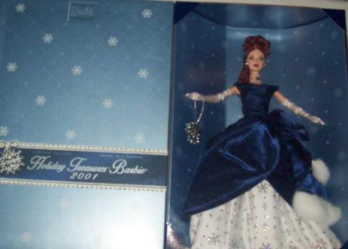 2001 Holiday Tesoros Barbie Exclusivo Mib w shipper