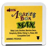 Blank Embroidery Card Brother Amazing Box & Little Max
