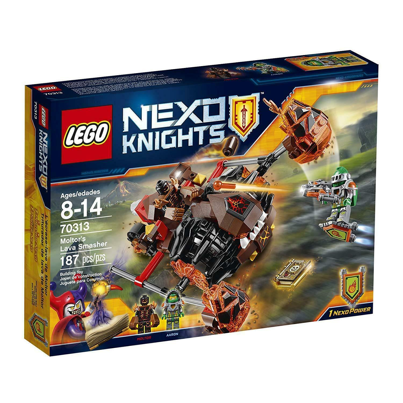 70313 MOLTOR'S LAVA SMASHER lego NEW legos set NEXO KNIGHTS castle AARON