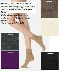6-Pack-Oroblu-Socks-Gwen-socks-with-ribbed-pattern-cuffs-with-cable-pattern