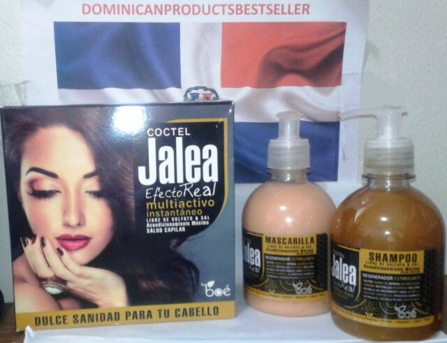Jalea Real Cocktail Shampoo + Hair Treatment kit 11 oz Regenerates and Stimulate