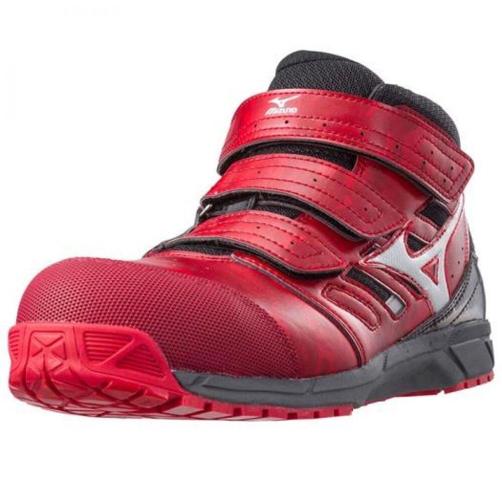 Mizuno Prossoective Working scarpe da da da ginnastica ALMYGHTY LS Mid cut type C1GA1802 rosso f51e09