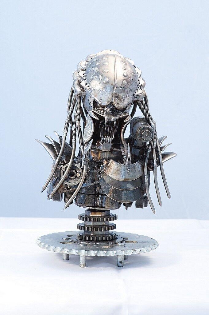 Protator aus Metall 60cm Film Figuren aus Metall Film Figuren Metall Preadtor