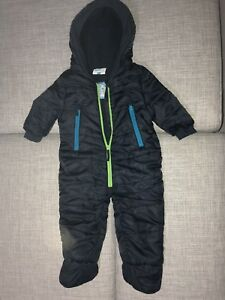 Fang große Auswahl an Designs heißes Produkt Details zu Topomini Schneeanzug Overall, Blau, Gr. 68, Neuwertig