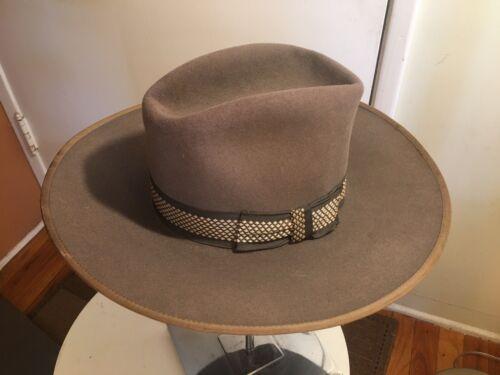 Vintage Larry Mahan Resistol Cowboy Felt Fedora we
