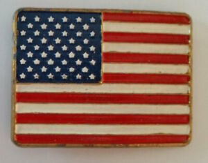 USA American FLAG Belt Buckle Patriot US Flag American Pride