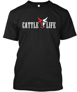 Cattle-Life-Hanes-Tagless-Tee-T-Shirt