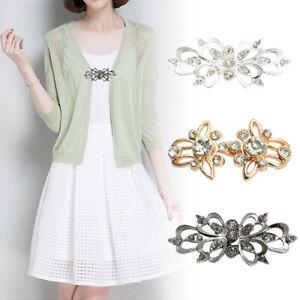 Fashion-Rhinestone-Brooch-Pin-Jewelry-Shirt-Lapel-Collar-Cardigan-Clip-07AU