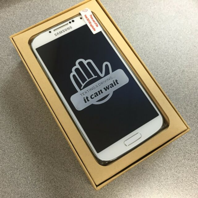 Inbox Samsung Galaxy S4 SGH-I337 - 16GB - White (AT&T) GSM Unlocked. Excellent