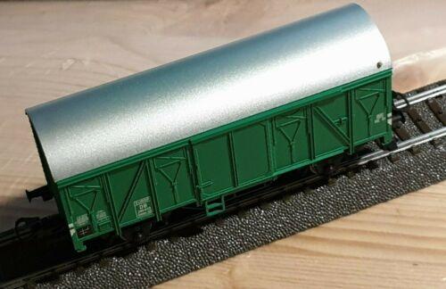 sin usar unbefahren Märklin con cena vagones DB verde h0 nuevo desmontan