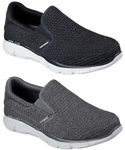 Skechers-Hombre-Deportivo-Comodidad-Zapatos-Mocasines-Deslizarse-en-52745
