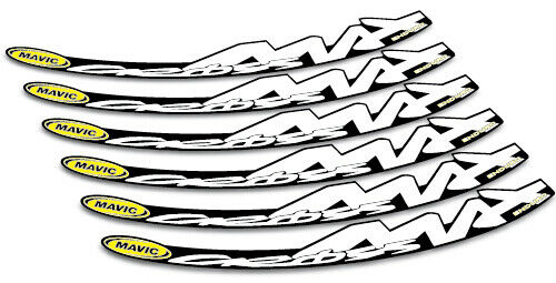 CROSSMAX ENDURO MTB bicycle bike wheel decals stickers for 26 27.5 650b inch