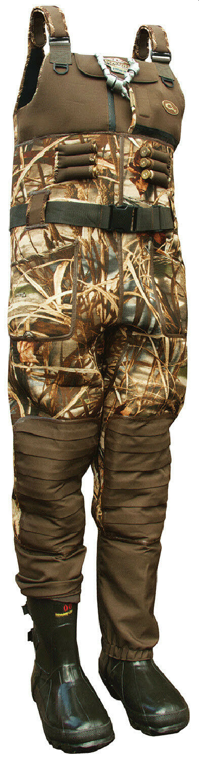 Drake DF8311-015-09 MST Chest Wader 3.5mm Neoprene Max5 Camo Size 9 Stout 20783