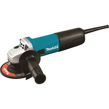 """Makita 4-1/2"""" Slide Switch AC/DC Angle Grinder 9557NB Reconditioned"""