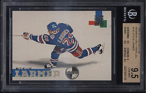 1994-95-Stadium-Club-Members-Only-Steve-Larmer-Gem-Mint-BGS-9-5-New-York-Rangers