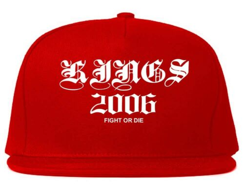 Kings Of NY 2006 Fight Or Die Goth Printed Snapback hat Adjustable Cotton Cap
