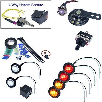 Teryx DIY Turn Signal Street Legal LED Lights Kit Horn for Ranger RZR 1000