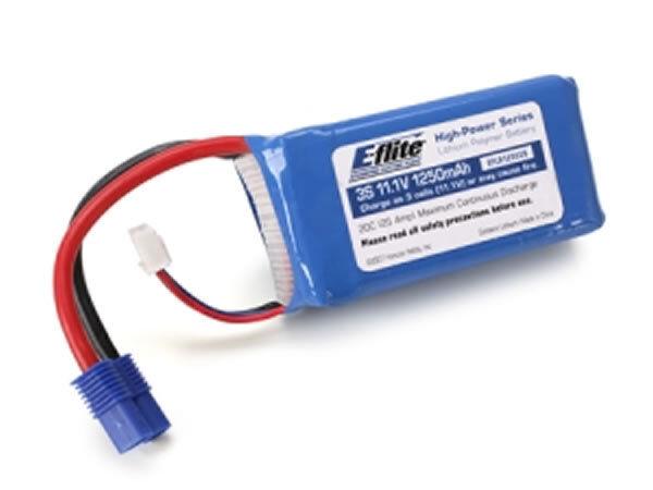 1350 mAh 3 S 11.1 V 30 C Lipo 13 AWG connettore EC3