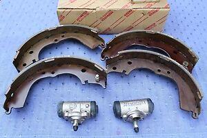 Original-Bremsbacken-x-Radbremszylinder-fuer-VW-Taro-und-Toyota-Hilux-1-8-2-4-D
