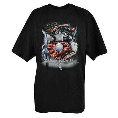 Baseball & Softball Zielstrebig Mlb Chicago Weißes Sox Geneseo Extended T-shirt Schwarz Herren Baseball