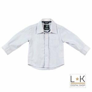 Camicia-a-Righe-Azzurre-Neonato-Sarabanda-F111