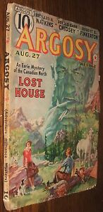 Argosy-Weekly-August-27-1938-Pirates-of-the-Foggy-Reef-Lost-House-R-H-Watkins