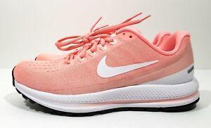 386015fddba2 Nike Air Zoom Vomero 13 Womens Running Training Shoes Pink White ...