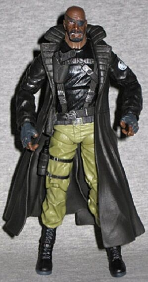 NEW MARVEL LEGENDS ULTIMATE 2-PACK NICK FURY FIGURE LOOSE BY HASBRO