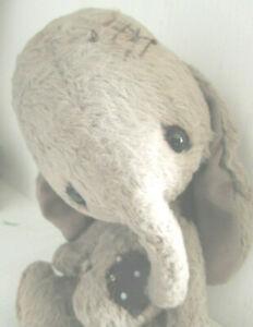 "Unikat 🌺 Künstler Elefant ""Patchwork"" 🌺 by SYLVIE TOUZARD 🌺20 cm🌺 Zertifikat"