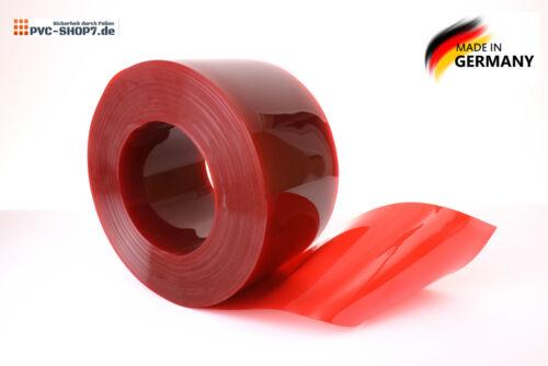 PVC Strip Curtain Blind Curtain Stripe Curtain 300x3mm Red Cheap