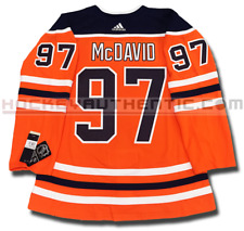CONNOR MCDAVID EDMONTON OILERS HOME AUTHENTIC PRO ADIDAS NHL JERSEY